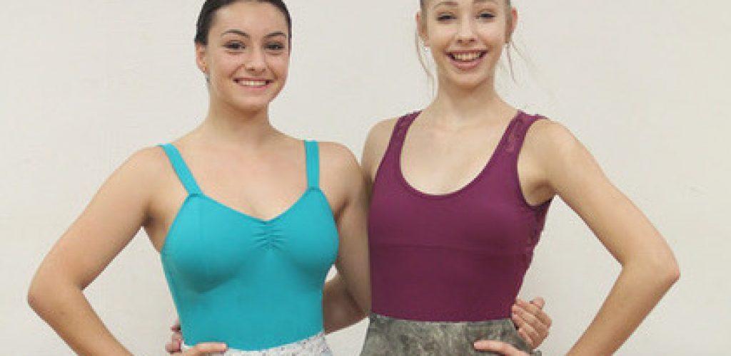 Footworks Dance Studio students Maddi & Gabby