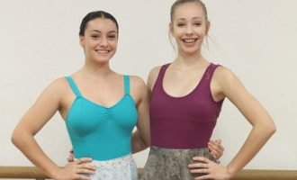 Footworks Dance Studio students Maddi & Gabby
